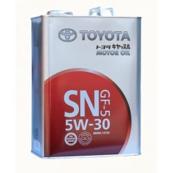 Масло моторное Toyota SN 5W-30, 4л