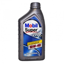 Моторное масло Mobil SUPER 2000 X1 10w40, 1л
