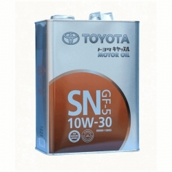 Масло моторное Toyota SN 10W-30, 4л