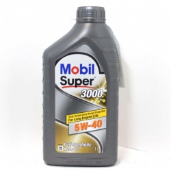Моторное масло Mobil SUPER 3000 X1 5w40, 1л