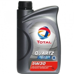 Моторное масло TOTAL Quartz INEO ECS 5w30,  1л